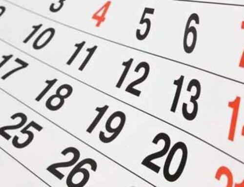 Calendario confinamiento